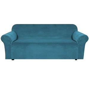 🆕️ Velvet 3 Cushion Couch Slipcover Covers